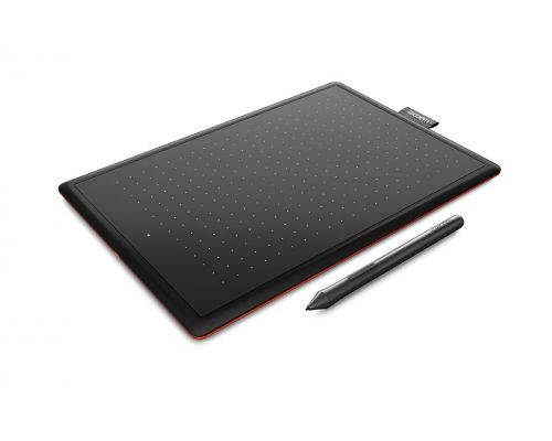Graphic Tablet One by Wacom Small, Black, image 1