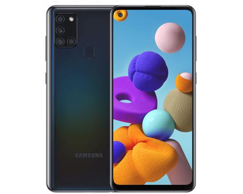 Samsung Galaxy A21s, Dual Sim, 64GB, 6.5 inches, Octa-Core, 4GB, 48+8+2+2 MP, Black, image 1