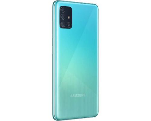 Samsung Galaxy A51, Dual Sim, 128GB, 6.5 inches, Octa-core, 8GB, 48MP  - Blue, image 2