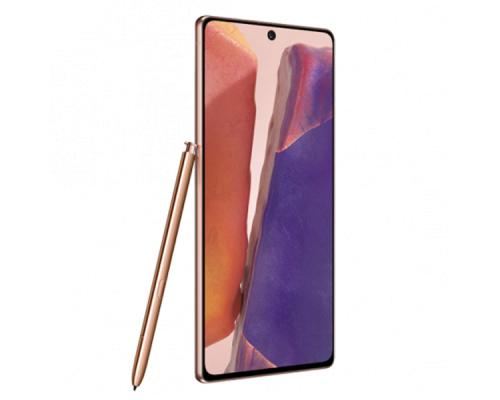 Samsung Galaxy Note 20, Dual SIM, 6.7 inches, Octa-core, 256GB, 8GB RAM - Mystic Bronze, image 2
