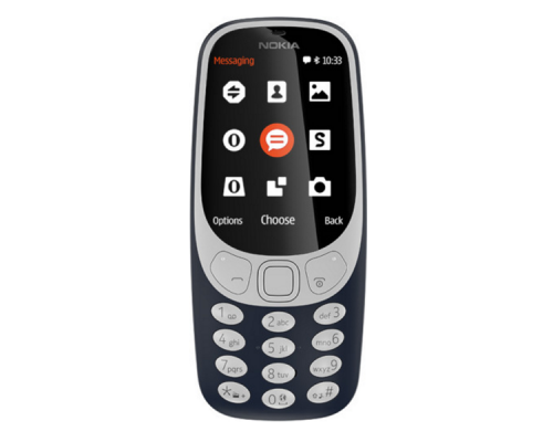 Nokia 3310 DS,  16 MB 2.4 Inches, 2G Dark Blue, image 4