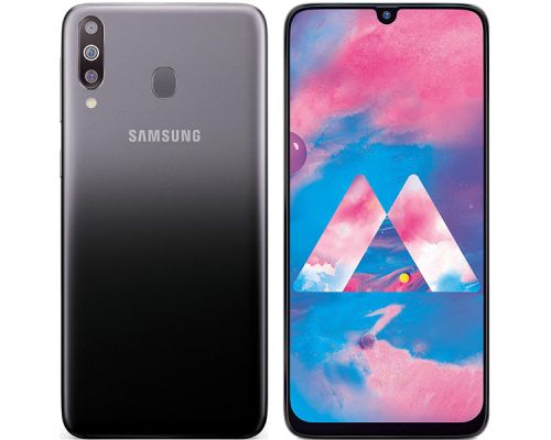 Samsung Galaxy M30, Dual Sim, 64GB, 6.4 inches, Octa-core, 4GB, 13MP, Black, image 1