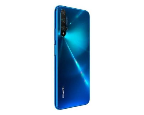 Huawei nova 5T, Dual Sim, 6.26 Inches, 128GB, octa-core, 6GB, Crush Blue, image 3